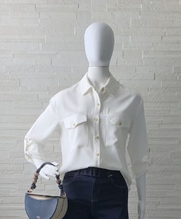 Camisa Basic Off White