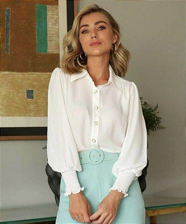 Camisa Botões Off White