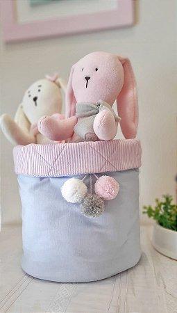 Cesto Organizador de Brinquedos Baby