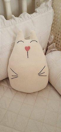 Almofada Decorativa Gatinha