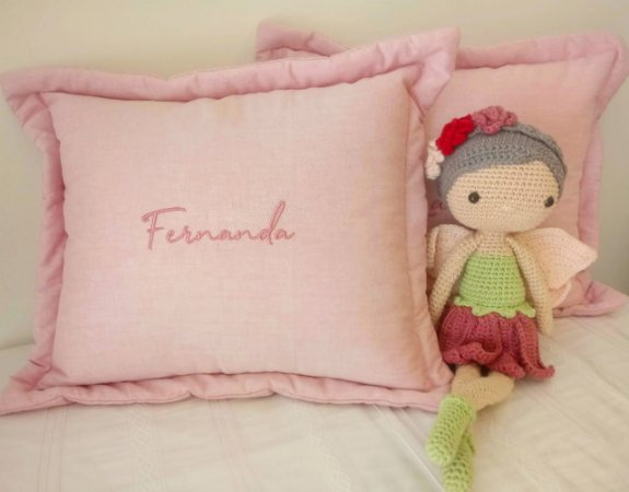 Almofada Decorativa Nome Fernanda