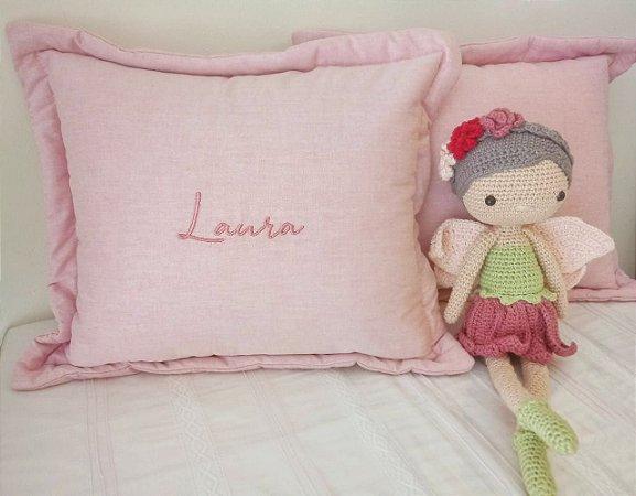 Almofada Decorativa Nome Laura