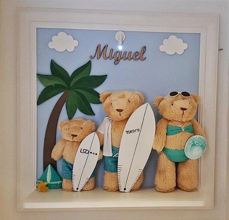 Porta Maternidade Família do Surf