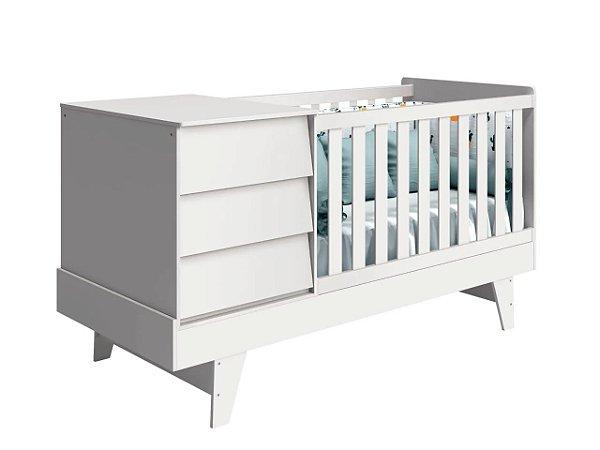 Berço Infantil Multifuncional 4 em 1 (7 Cores Disponíveis)