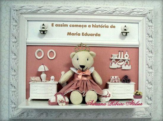 Porta Maternidade Eduardo Ursinha Princesa
