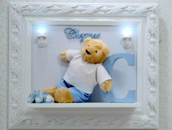 Porta Maternidade Urso com Letra