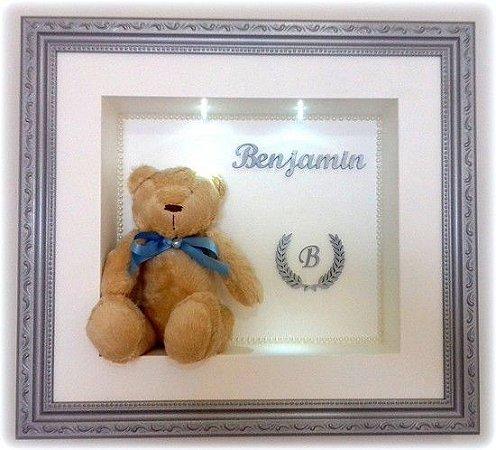 Porta Maternidade Urso Brasão