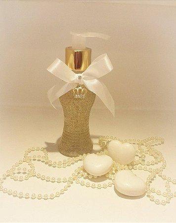 Lembrancinha Sabonete Líquido Dourado