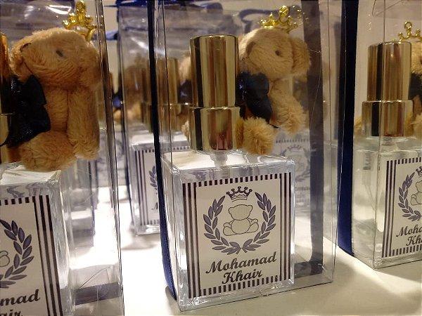 Lembrancinha Difusor de Ambiente Perfume Ursinho