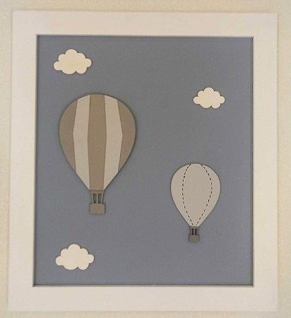 Quadro Balão e Balãozinho