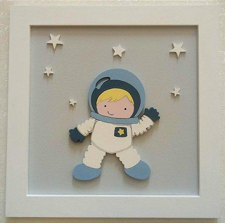 Quadro Menininho Astronauta