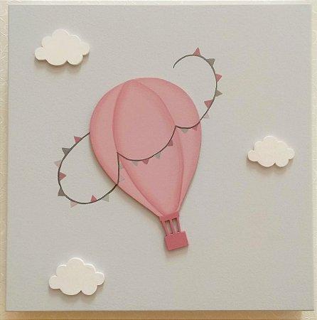 Quadro Balãozinho Encantado