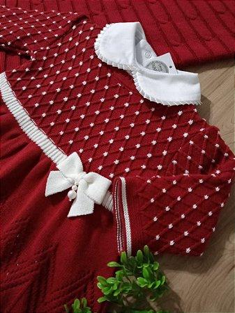 Saída Maternidade Casinha de Abelha Vermelho