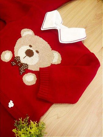 Saída Maternidade Urso Vermelho