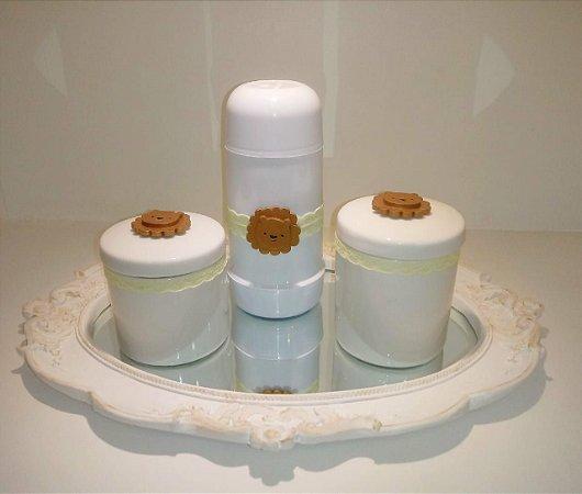 Kit Higiene Carinha de Leão