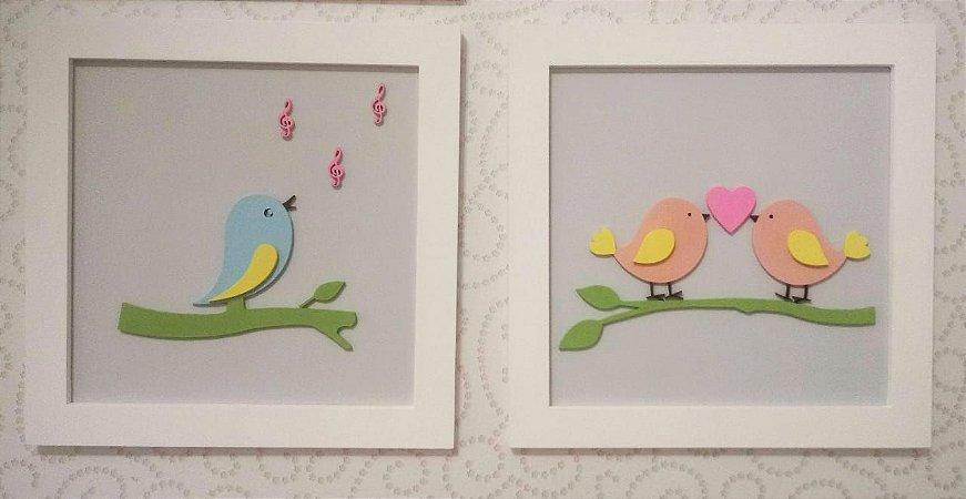 Quadro Pássaros
