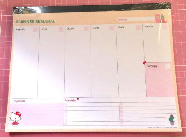 Planner Semanal Variados