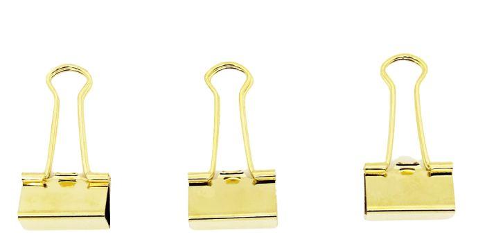 Binder Dourado 25mm