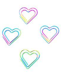 Clips Coração Color