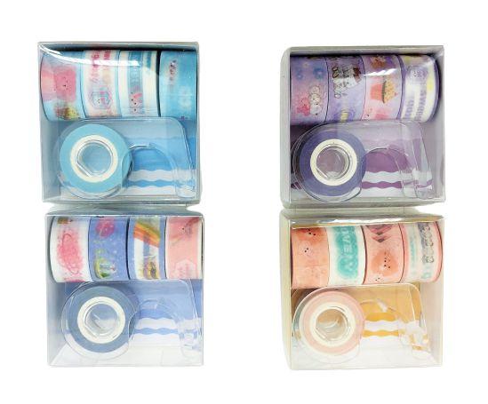 Mini Washi Tape com Dispenser