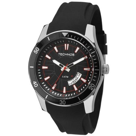 Relógio de Pulso Masculino Technos 2115KSN Preto