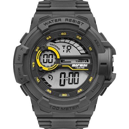 Relógio Mormaii Masculino Acqua Wave Mo3660AA Preto Amarelo
