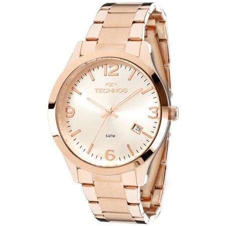 Relógio de Pulso Feminino Technos 2315ACJ Ouro Rosé