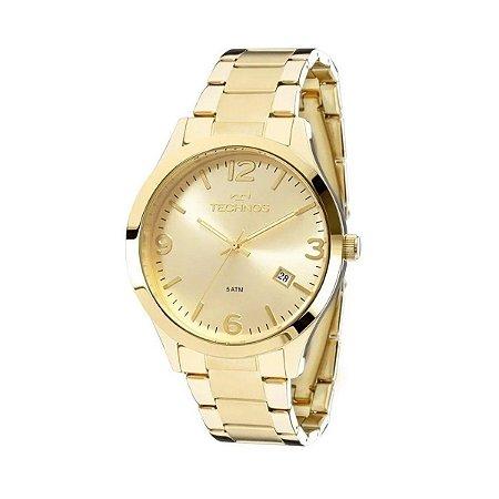 Relógio de Pulso Feminino Technos 2315ACD Ouro