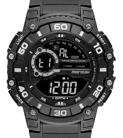 Relógio de Pulso Mormaii Wave Preto MO3260