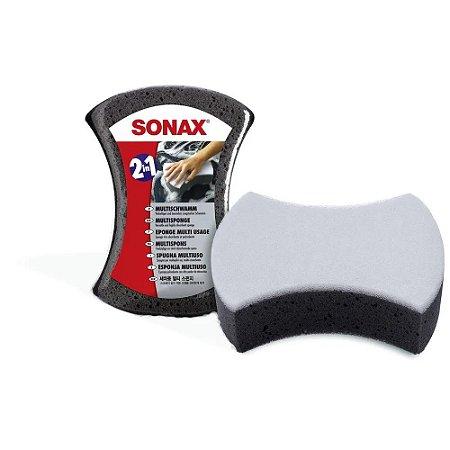 Esponja Dupla Ação 2 em 1 Multi Esponge - Sonax