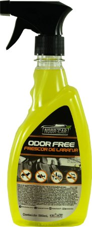 Eliminador De Odores Odor Free Frescor de Laranja -  Nobre Car