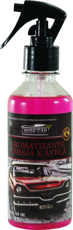 Aromatizante AMB Cereja e Avelã Premium Nobre Car 250ml