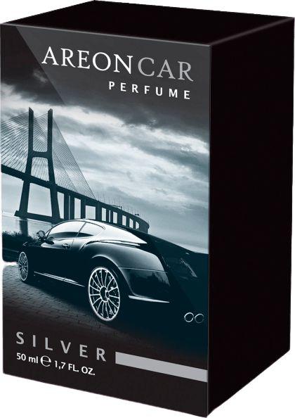 Aromatizante para Carro Areon Car - Perfume 50ml - Silver