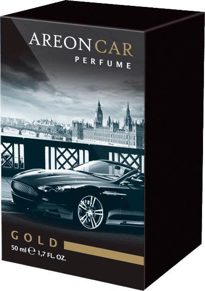 Aromatizante para Carro Areon Car - Perfume 50ml - Gold