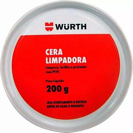 Cera Limpadora série Ouro 200g - Wurth