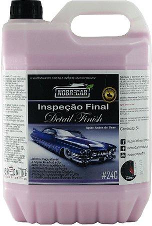 Cera Líquida Inspeção Final Detail Finish 5L - Nobre Car