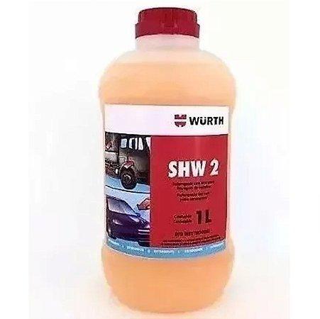 Shampoo com Cera Limpeza Automotiva Carro Moto 1L SHW2 Würth