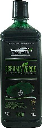 Detergente Automotivo Espuma Verde 1L - Nobre Car