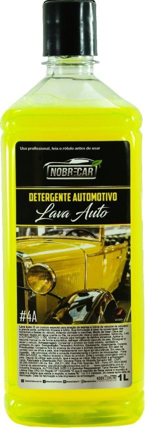 Shampoo Detergente Automotivo 1L - Nobre Car