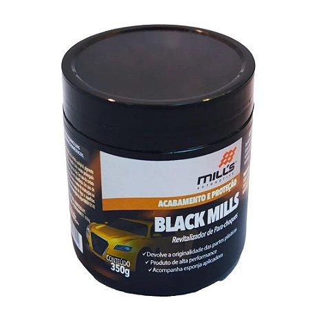 Revitalizador De Parachoques e Peças Plásticas - Black Mills - Black Mills 350g