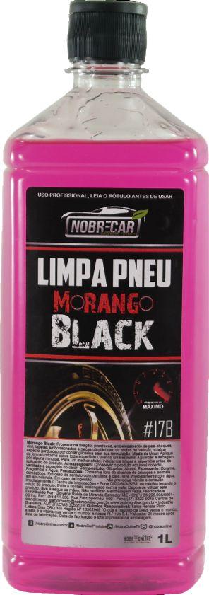 Limpa Pneus Morango Black Nobre Car 1L