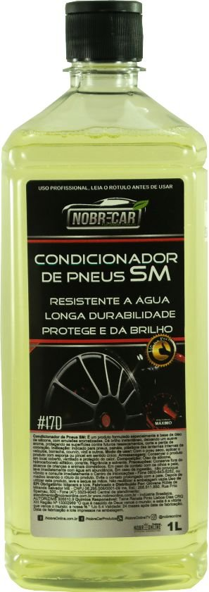 Condicionador de Pneus SM 1L -  Nobre Car