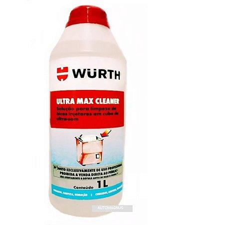 Solução para limpeza em cuba de ultrassom Ultra Max Cleaner 1L - Wurth