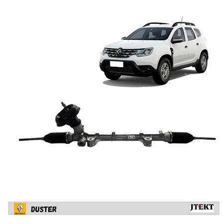 Caixa de direção manual sem terminais coluna direção elétrica - Renault Duster todos 2019 em diante - Jtekt