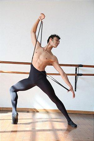 Malha Masculina com pé e suspensorio