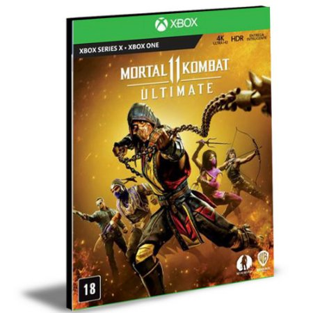Mortal Kombat 11 Ultimate XBOX ONE Mídia Digital