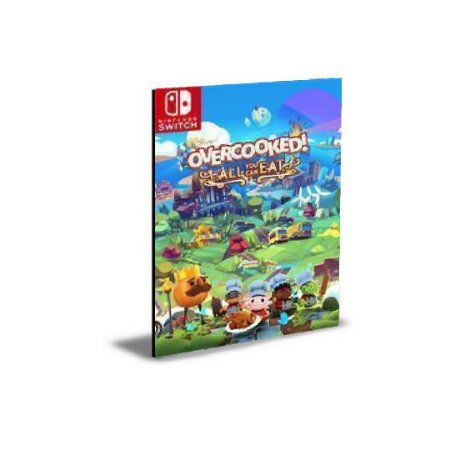 Overcooked! All You Can Eat Nintendo Switch Mídia Digital