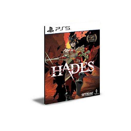 Hades Ps5 Psn Mídia Digital