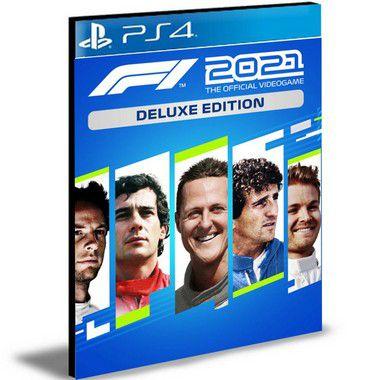 F1 2021 Deluxe Edition Português Ps4 Psn Mídia Digital
