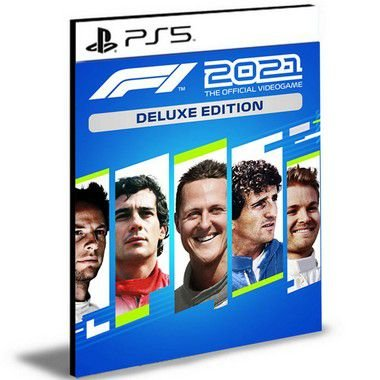 F1 2021 Deluxe Edition Português Ps5 Psn Mídia Digital